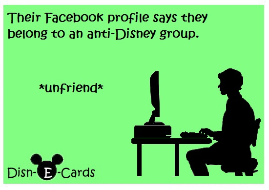 Disney E-cards Facebook