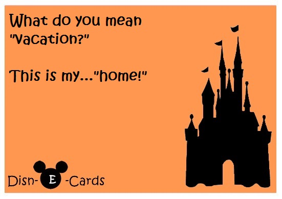 Disney Is Home E-Card