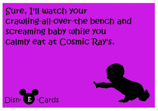 Cosmic Ray's Disney E-Cards