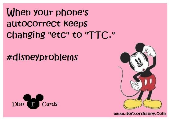 Disney E-Cards TTC