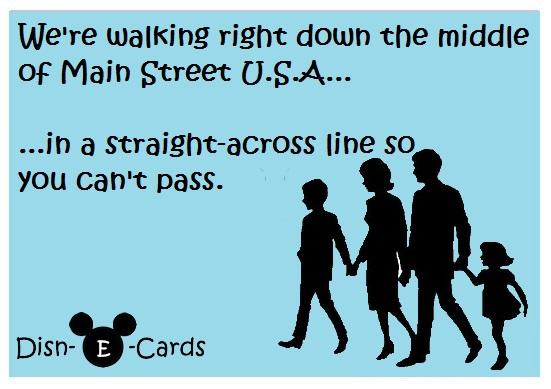 Main Street Family Disney E-Card