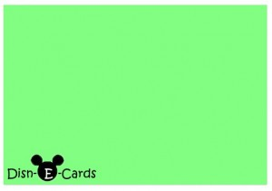 Disney E-Card DisnEcard