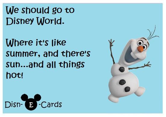 Olaf Disney E-Card