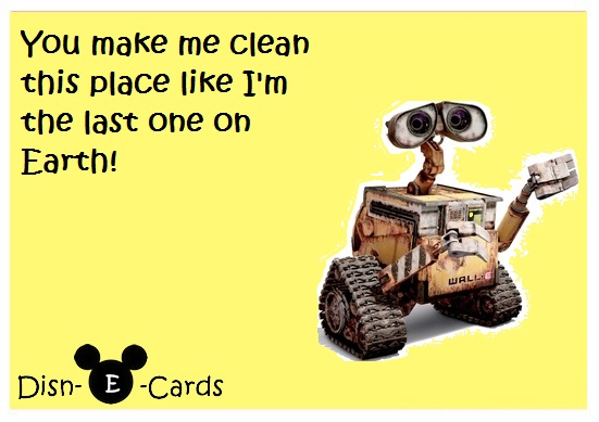 Wall-E Clean Disney E-Card