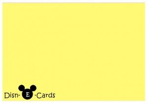 Disney E-Card DisnEcard