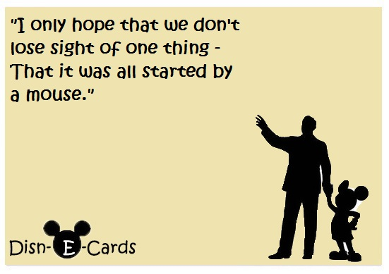Disney E-Cards Walt Disney