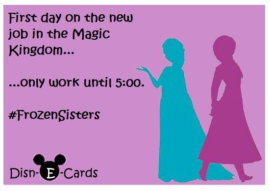 Anna and Elsa Disney E-Cards