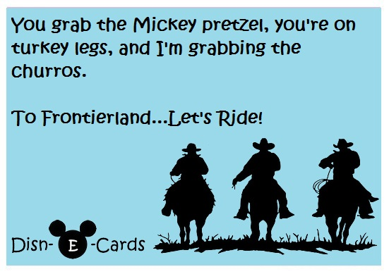 Disney Cowboys Disney E-Cards