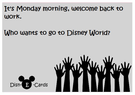 Disney E_Card Mondays