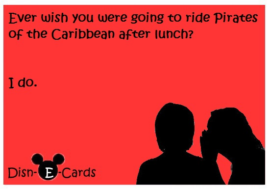 Disney E-Cards Pirates