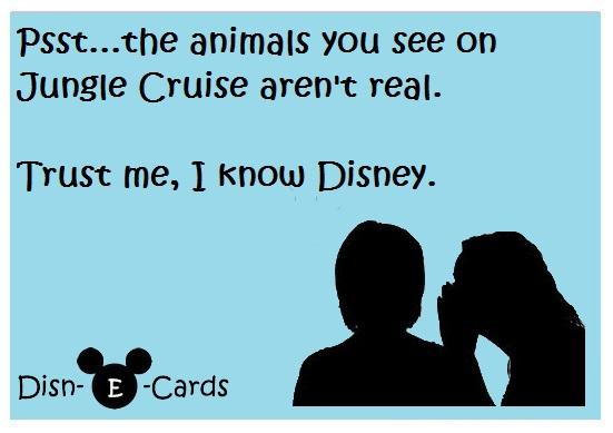 Disney E-cards Jungle Cruise