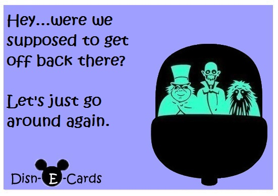 Disney E-cards Haunted Mansion